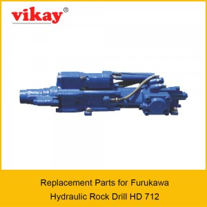 HD 712 Furukawa Hydraulic Rock Drill Parts